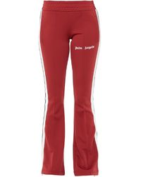 Palm Angels Casual Trousers - Red