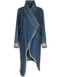 Bazar Deluxe Denim Outerwear - Blue