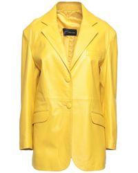 Manokhi Suit Jacket - Yellow