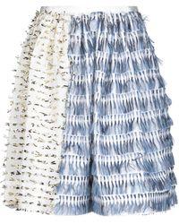 ANAЇS JOURDEN Knee Length Skirt - White