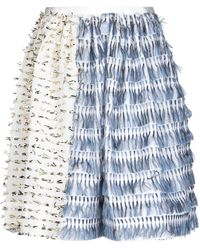 ANAЇS JOURDEN Midi Skirt - White