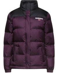 Napapijri Down Jacket - Purple