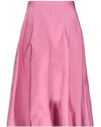 N°21 3/4 Length Skirt - Pink