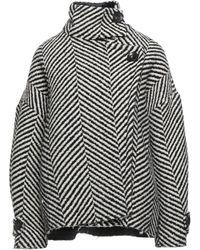 Erika Cavallini Semi Couture Coat - Black