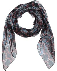 Manila Grace Square Scarf - Blue