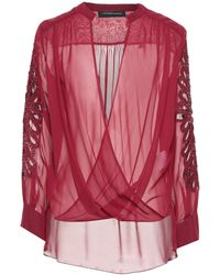 Forever Unique Blouse - Red