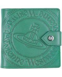 Vivienne Westwood Brieftasche - Grün