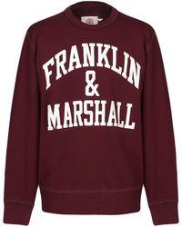 Franklin & Marshall Felpa - Rosso