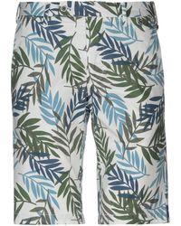 AT.P.CO - Bermuda Shorts - Lyst