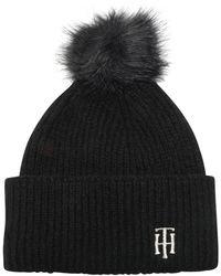 Tommy Hilfiger Chapeau - Noir