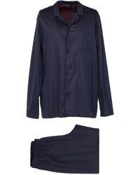 Hanro Sleepwear - Blue