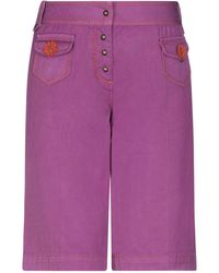Fay Bermuda Shorts - Purple