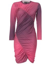 House of Holland Robe courte - Violet