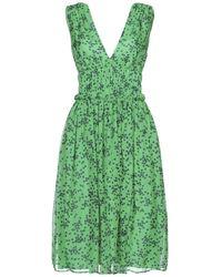 P.A.R.O.S.H. Vestido por la rodilla - Verde