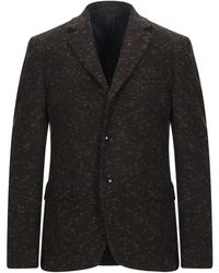 Mp Massimo Piombo Suit Jacket - Brown