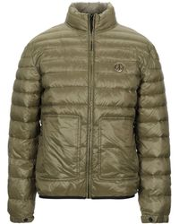 Love Moschino Synthetic Down Jacket - Green