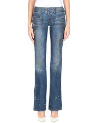 DIESEL Pantalon en jean - Bleu