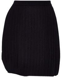 Emporio Armani Midi Skirt - Black