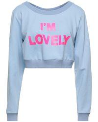 Blugirl Blumarine Sweat-shirt - Bleu