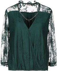 Scee By Twin-set Blouse - Green