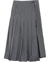 ROKH Midi Skirt - Grey