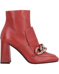 Alberto Gozzi Ankle Boots - Red