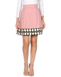 Olympia Le-Tan - Knee Length Skirt - Lyst