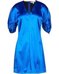 Elizabeth and James Short Dress - Blue