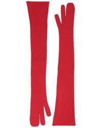 Maison Margiela Gloves - Red