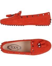 Tod's Mocassins - Rouge