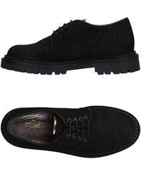 Ottod'Ame Chaussures à lacets - Noir