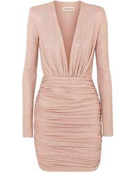Alexandre Vauthier Short Dress - Pink