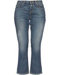 Saint Laurent Pantalon en jean - Bleu