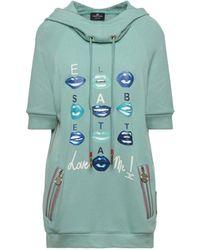 Elisabetta Franchi Sweat-shirt - Bleu
