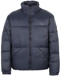 Quiksilver Synthetic Down Jacket - Blue