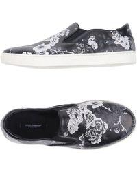 Dolce & Gabbana - Low Sneakers & Tennisschuhe - Lyst
