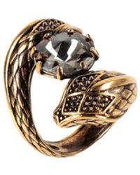 Roberto Cavalli Ring - Metallic