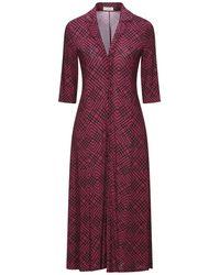 Siyu Midi Dress - Purple