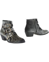 Lemarè Ankle Boots - Grey