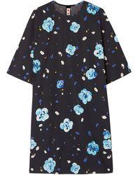 Marni Kurzes Kleid - Blau