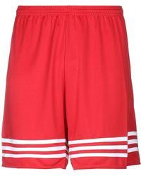 adidas Bermudas - Rojo