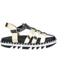 Tipe E Tacchi Sandals - Metallic