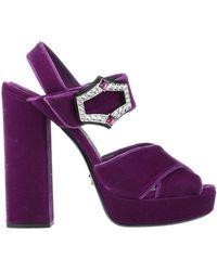 Prada Sandals - Purple