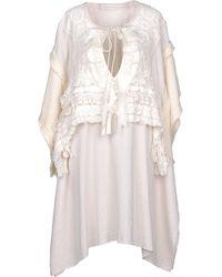 Faith Connexion Robe courte - Blanc