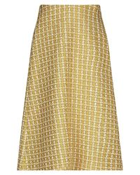 Balenciaga 3/4 Length Skirt - Yellow