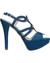 Barbara B Sandals - Blue