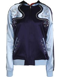 Opening Ceremony - Casual Jackets Sky Blue - Lyst