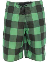 Osklen Pantaloni da mare - Verde