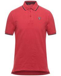 Blauer Polo Shirt - Red