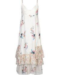 DV ROMA Langes Kleid - Weiß